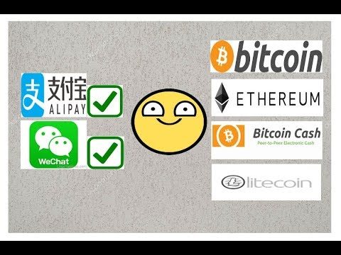 Buy BITCOIN With ALIPAY Or WECHAT. Buy BITCOIN, ETHEREUM, BITCOINCASH, LITECOIN In CHINA !