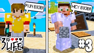 MONOPOLY MOUNTAIN SCAM? l Minecraft 3rd Life SMP l EP.3