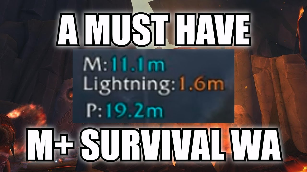 A MUST HAVE Weak Aura for High M+!
