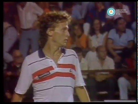 Cuadrángular de verano: Jaite vs. Nastase, 1985