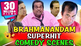 Brahmanandam Superhit Comedy Scenes | South Indian Hindi Dubbed Best Comedy Scenes