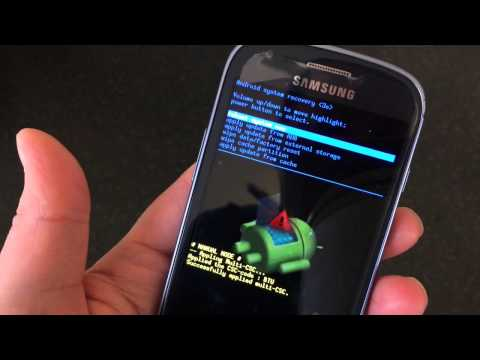 Samsung Galaxy S3 Mini i8190 Hard Reset/Password Remove