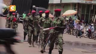 Polisi, waandamanji wakabiliana mjini Kampala