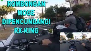 MOTOR IBLIS! RX-King Pecundangi Moge Sekali Gas Langsung Terbang
