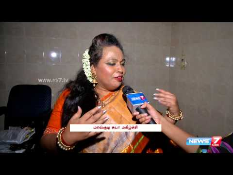Malgudi Subha spotted at a fashion show   Super Housefull   News7 Tamil