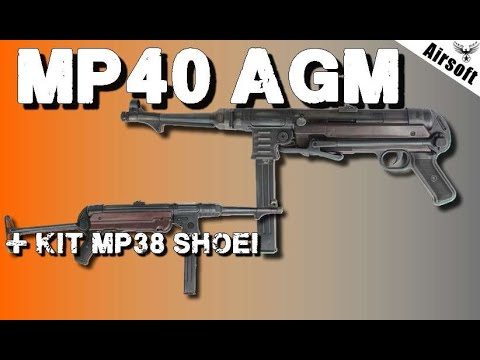 🔫MP40 AGM - MP38 Shoei - REVIEW AIRSOFT