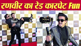 Ranveer Singh's fun at Star Screen Awards 2019 |Watch Video |FilmiBeat
