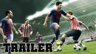 PES 2013 Pro Evolution Soccer Gameplay Official Trailer