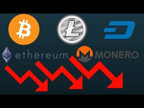 The Reasons Bitcoin Is Crashing And Lowering Prices