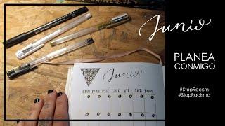 Bullet Journal Junio 2020 [Planea conmigo] // Bullet Journal Set Up June 2020 [Plan with me]