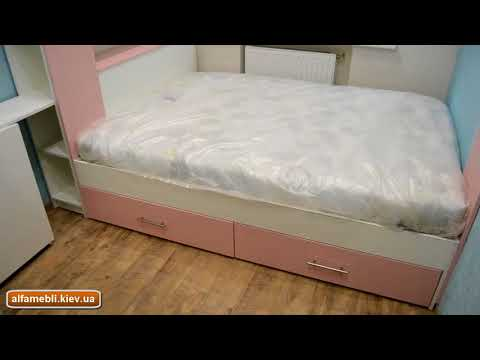Маленькая детская комната 7 кв м  Современная мебель