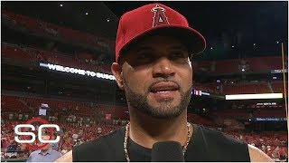 Albert Pujols calls return to St. Louis one of the best moments of his career | SportsCenter