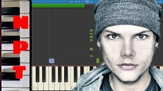 Avicii vs Conrad Sewell - Taste The Feeling - Piano Tutorial -