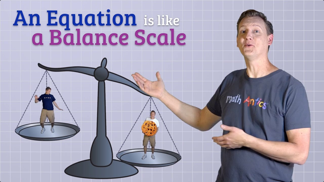 Algebra Basics: Solving Basic Equations Part 1 - Math Antics - YouTube [ 720 x 1280 Pixel ]