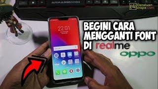 Cara Mudah Mengganti Font di Oppo dan Realme - Bahasa Indonesia