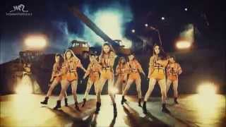 SNSD - Catch me if you can (Mirrored)