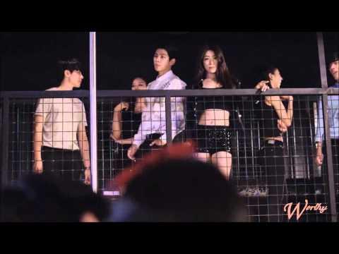 Blackqueen Jandi.. Hwan Hee Action music video shoot