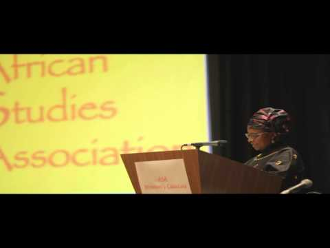 African Studies Association Women's Caucus Lecture- 2014