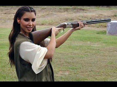 9 Celebrities Who Love Guns