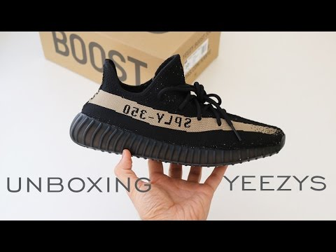 YEEZY BOOST 350 V2 UNBOXING | GREEN | REVIEW | ALEX COSTA