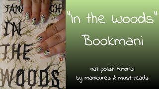 "~°Nail Polish Tutorial inspired by ""In the Woods"" by Tana French 