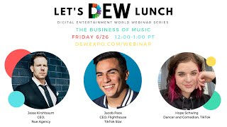 Let's DEW Lunch Webinar with Jacob Pace, Hope Schwing, and Nue Agency (June 26, 2020)