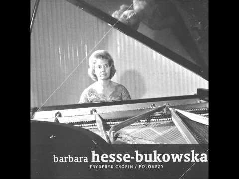 BARBARA HESSE-BUKOWSKA plays CHOPIN Polonaise-Fantaisie Op.61 (1968)