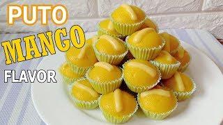 Filipino Steam Cake Mango Flavor | How to Make Filipino Steam Cake Mango