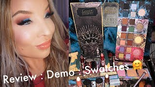 Urban Decay x Game of Thrones Collection : Review, Demo, Swatches
