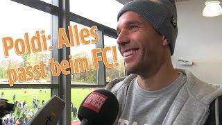 Lukas Podolski: 1. FC Köln ist mein Verein, Köln meine Stadt!