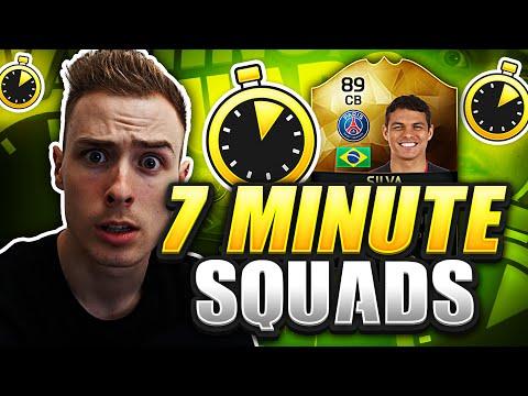 FIFA 16 - 7 MINUTE SQUAD BUILDER WITH INFORM THIAGO SILVA!! - Epic Squad Builder