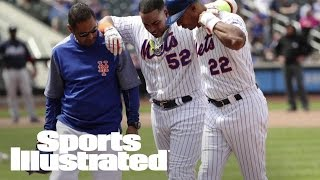 Mets OF Yoenis Cespedes Leaves Game With Hamstring Injury | SI Wire | Sports Illustrated