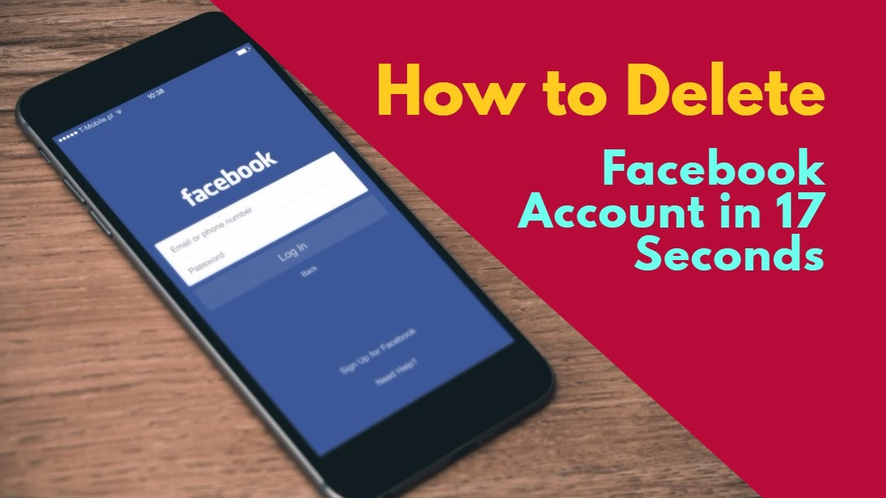 how to totally delete facebook