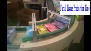 (carton Box)full automatic facial tissue production line