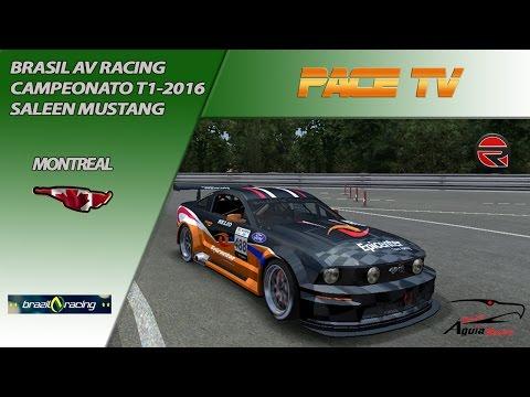 BRAZIL AV RACING - CAMPEONATO MUSTANG T1/2016 - MONTREAL