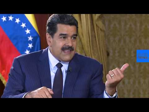 """Entrevista a Nicolás Maduro para euronews: """"esto es una batalla mundial"""""""