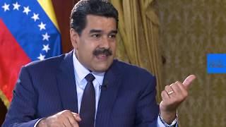 Entrevista a Nicolás Maduro para euronews: