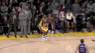 Kobe Bryant Game Winning/Winner, Buzzer Beater Clutch 3-point Shot Against Kings