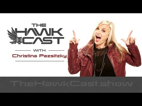 Christina Pazsitzky: New Mom, Standup, Podcast Host - The HawkCast