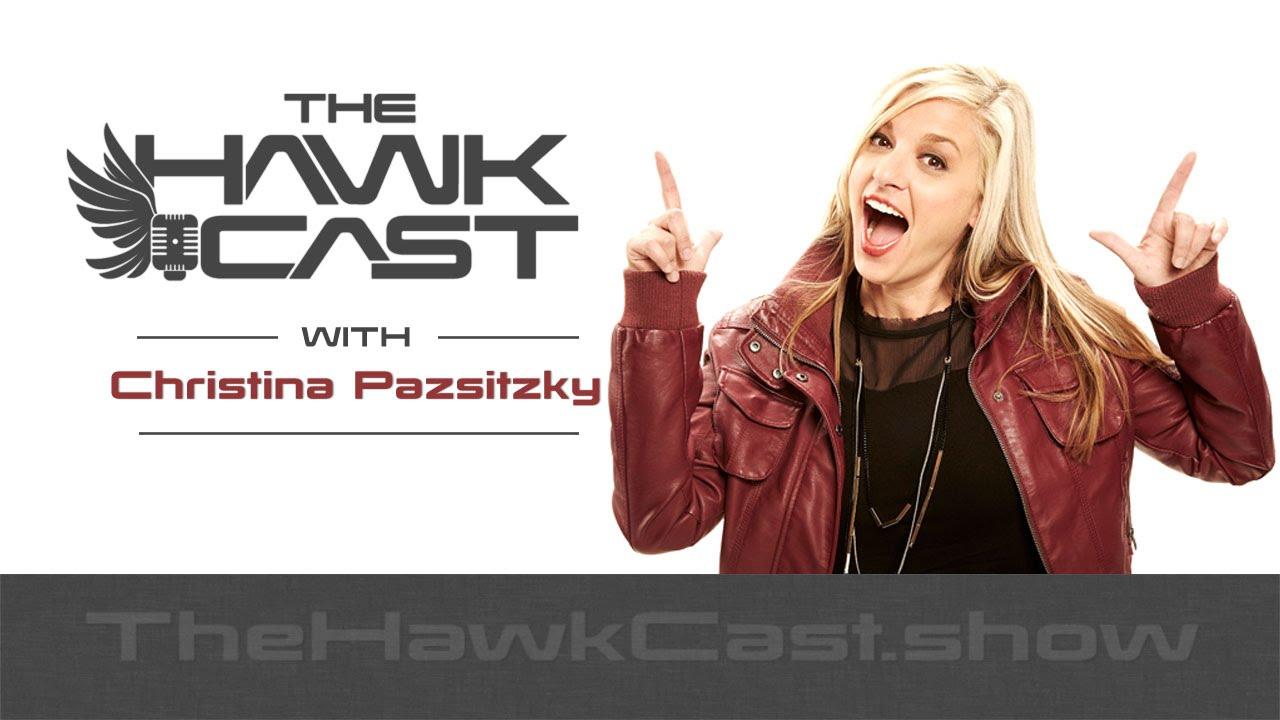 Download Christina Pazsitzky: New Mom, Standup, Podcast Host - The HawkCast