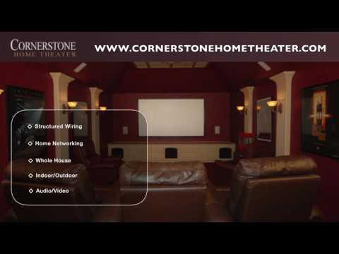 Cornerstone Home Theater - Dallas, TX - Audio, Video, Security Installation