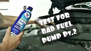 THIS REALLY WORKS part 2!!!!!!! Bad fuel pump, fuel pump relay, no fuel problem!!!