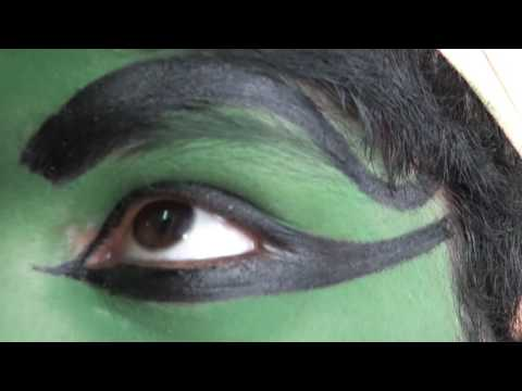 Kathakali Makeup for School Programme
