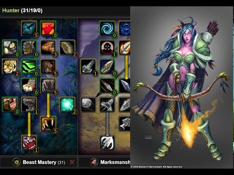 Classic Vanilla WoW: Quick Guide Hunter [Leveling Talents] - YouTube