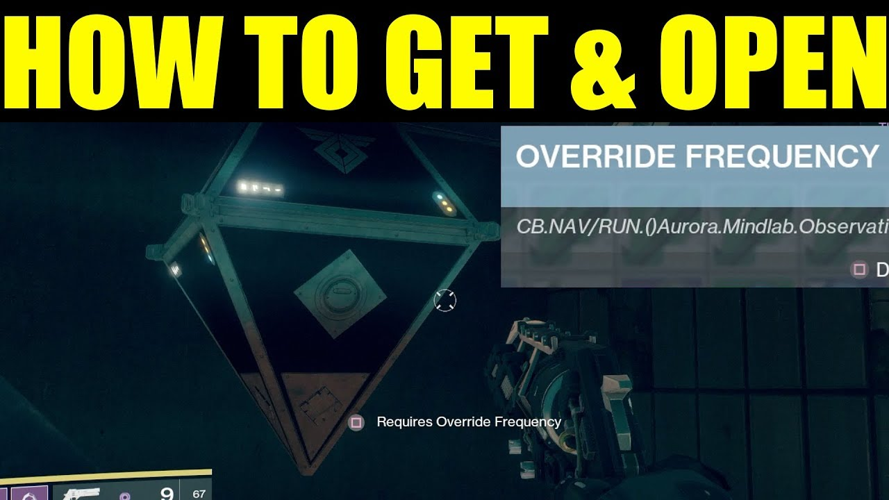 Destiny 2 How To Get Override Frequency Open Up Sleeper Nodes Mars Fuse Box Chests On