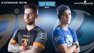 CS:GO - Fnatic vs. Luminosity [Inferno] Map 3 - IEM Katowice 2016 - Grand Final