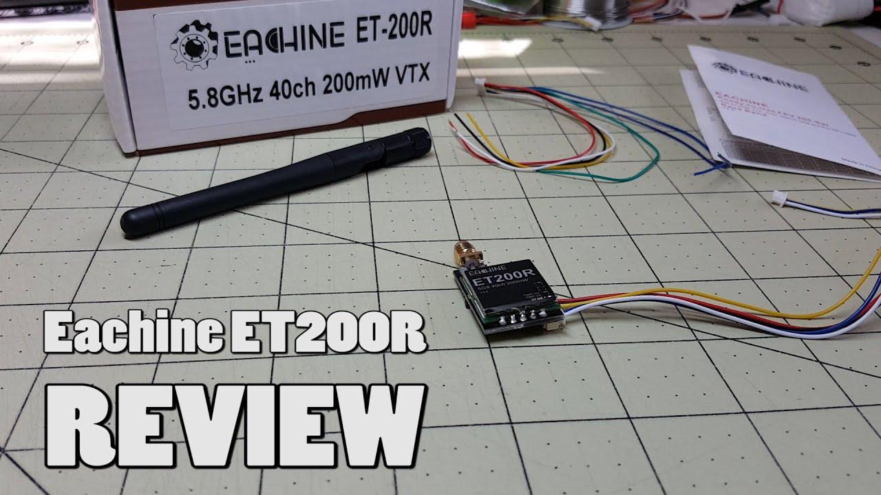 Never used Eachine ET600R VTX