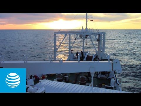 Diving Deep to Help Keep the World Connected | AT&T
