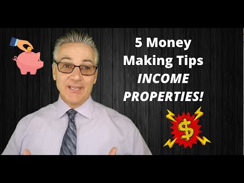 Tips and Tricks for Income Properties