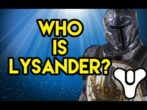 Destiny Lore Who is Lysander?